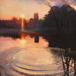 Autumn Morning Lymm Dam