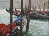Gondolas at the Salute